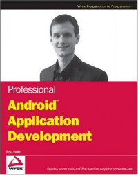 Professional Android Application Development (Wrox Programmer to Programmer)
