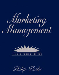Marketing Management: Millennium Edition (10th Edition)