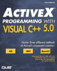 Activex Programming With Visual C++ 5
