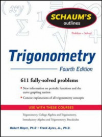 Schaum's Outline of Trigonometry, 4ed (Schaum's Outline Series)