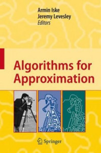 Algorithms for Approximation: Proceedings of the 5th International Conference, Chester, July 2005