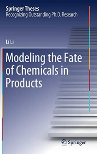 Modeling the Fate of Chemicals in Products (Springer Theses)