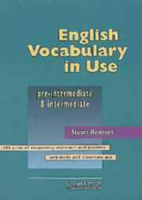 English Vocabulary in Use Pre-intermediate and Intermediate Edition with answers