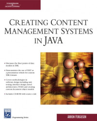 Creating Content Management Systems in Java (Charles River Media Programming)