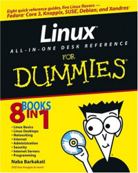 Linux All-in-One Desk Reference For Dummies (Computer/Tech)