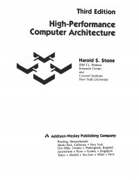 High Performance Computer Architecture (3rd Edition) (Addison-Wesley Series in Electrical and Computer Engineering)