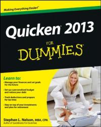Quicken 2013 For Dummies (Computer/Tech)