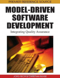Model-Driven Software Development: Integrating Quality Assurance (Premier Reference Source)