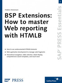 BSP Extensions: How to Master Web Reporting With Htmlb