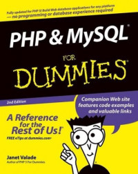 PHP and MySQL for Dummies, Second Edition