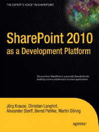 SharePoint 2010 as a Development Platform