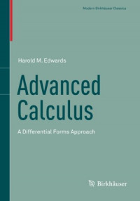 Advanced Calculus: A Differential Forms Approach (Modern Birkhäuser Classics)