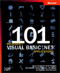 101 Microsoft Visual Basic .NET Applications