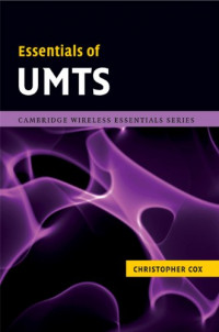 Essentials of UMTS (The Cambridge Wireless Essentials Series)