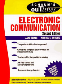 Schaum's Outline of Electronic Communication