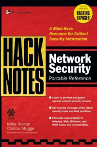 HackNotes(tm) Network Security Portable Reference