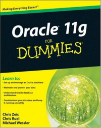 Oracle 11g For Dummies (Computer/Tech)