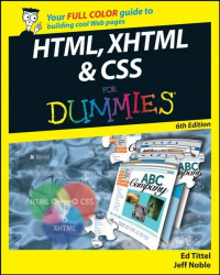 HTML, XHTML & CSS For Dummies (Computer/Tech)