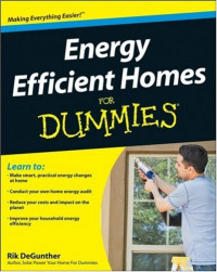 Energy Efficient Homes For Dummies (Home & Garden)