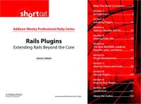 Ruby Series Rails Plugins: Extending Rails Beyond the Core