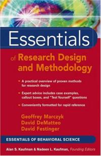 Essentials of Research Design and Methodology (Essentials of Behavioral  Science)