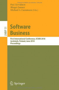 Software Business: First International Conference, ICSOB 2010