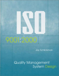 ISO 9001: 2000 Quality Management System Design