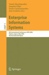 Enterprise Information Systems: 8th International Conference, ICEIS 2006, Paphos, Cyprus, May 23-27, 2006, Revised