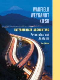 Intermediate Accounting: Principles and Analysis