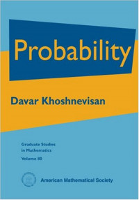 Probability (Graduate Studies in Mathematics)