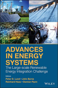 Advances in Energy Systems: The Large-scale Renewable Energy Integration Challenge