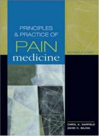 Principles & Practice of Pain Management