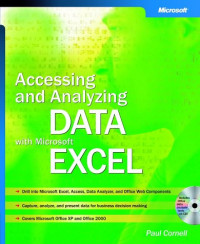 Accessing and Analyzing Data with Microsoft Excel 2003