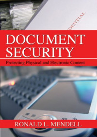 Document Security: Protecting Physical and Electronic Content