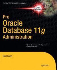 Pro Oracle Database 11g Administration (Expert's Voice in Oracle)