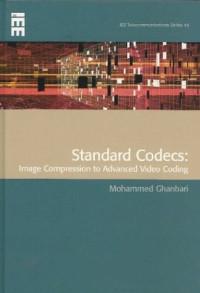 Standard Codecs: Image Compression to Advanced Video Coding (Telecommunications)