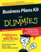 Business Plans Kit For Dummies (Business & Personal Finance)
