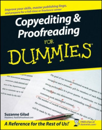 Copyediting & Proofreading For Dummies (Language & Literature)