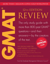 The Official Guide for GMAT Review, 12th Edition