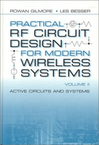 Practical RF Circuit Design for Modern Wireless Systems Vol. 2: Active Circuits and Systems