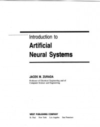 Introduction to Artificial Neural Systems