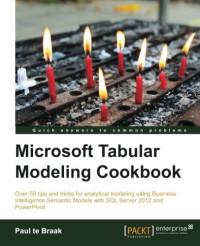 Microsoft Tabular Modeling Cookbook