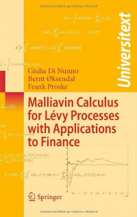 Malliavin Calculus for Lévy Processes with Applications to Finance (Universitext)