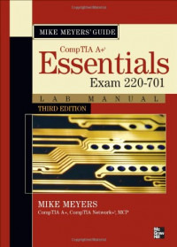 Mike Meyers CompTIA A+ Guide: Essentials Lab Manual, Third Edition (Exam 220-701)
