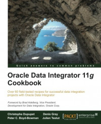 Oracle Data Integrator 11g Cookbook