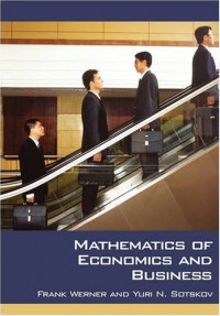 Mathematics of Economics and Business