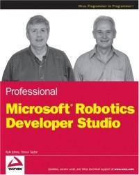 Professional Microsoft Robotics Developer Studio (Wrox Programmer to Programmer)