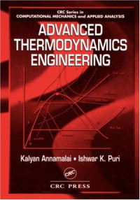 Advanced Thermodynamics Engineering (Computational Mechanics and Applied Analysis Series)