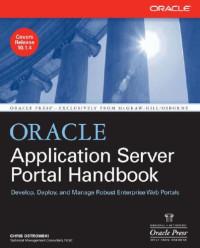 Oracle Application Server Portal Handbook (Osborne Oracle Press)