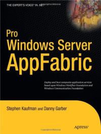 Pro Windows Server AppFabric (Beginning)